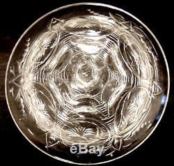 10 Antique Thomas Webb Rock Crystal Intaglio Cut Glass Wine Stems Stemware WET61