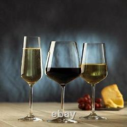 12 Piece Wine Glass Set Red, White, Champagne Ovid Glassware Villeroy & Boch