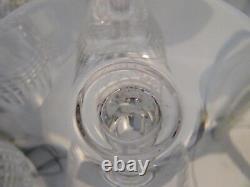 12 verres à vin 11,5cl cristal Baccarat Nancy crystal wine glasses r83