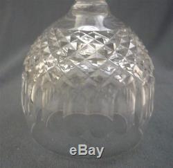 4 Elegant COLLEEN Waterford Irish Crystal WINE HOCK Stemware Glass 7 1/4 Tall