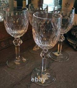 4 Waterford CURRAGHMORE CLARET WINE GLASSES