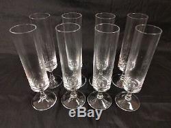 50 pc set Rosenthal Studio-Linie Romance I Crystal Glasses Ball Stem Round Plain