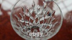 6 Stuart Crystal Wine Glasses Tewkesbury Design + Box +Sleeve Unused 17.5cm tall