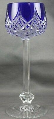 $660 NEW Baccarat COLBERT Rhine Wine Blue Lead Crystal Glass more available