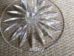 8 Ajka Hungary 24% Pbo Hand Cut Crystal Goblets Or Wine Stems AJC37 7 1/4