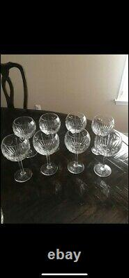 (8) Waterford Crystal LOVE BALLOON WINE Goblets
