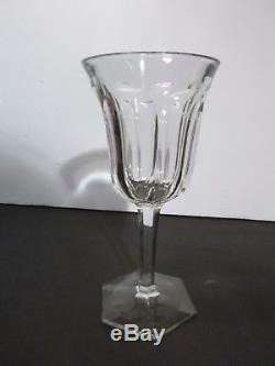 ANTIQUE Baccarat Crystal MALMAISON (1910-) Set of 6 Port Wine 6 Made FRANCE