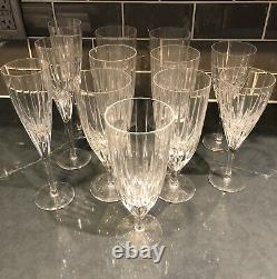 ATLANTIS FANTASY Crystal 12 pieces 7 goblets, 2 wine and 3 champagne
