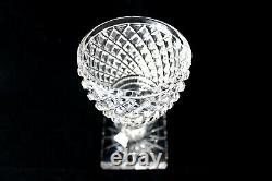 Antique Baccarat -Voneche cut crystal Empire glasses 1810-1830