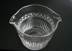Antique Georgian Wine Rinser Cut Glass Crystal Ireland England ca. 1830s