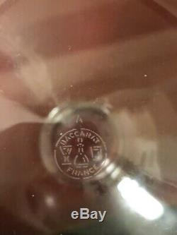 BACCARAT CRYSTAL WINE DECANTER WITH STOPPER 11 Signed