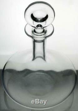 BACCARAT Crystal Glass DECANTER Young Wine OENOLOGIE Made in France