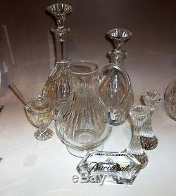 BACCARAT MASSENA Decanter excellent condition