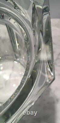 BACCARAT MCM Art Deco Harcourt Crystal Ice Bucket CHAMPAGNE Cooler Vase Wine