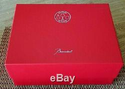 Baccarat Chateau 8 1/4 Crystal White Wine Glass Set of 2 Brand New In Red Box