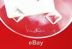 Baccarat Clair De Lune American White Wine Crystal Glass Made In France New Box