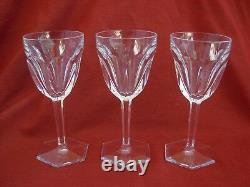 Baccarat, Compiegne, Crystal Wine Glasses, Set Of 6