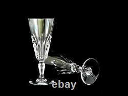 Baccarat Crystal Biarritz Champagne Flutes Glasses