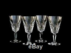 Baccarat Crystal Carcassonne Claret Red Wine Glasses Set of 4