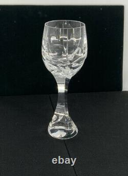 Baccarat Crystal Glass Neptune Water/Wine Goblet Multiple Available