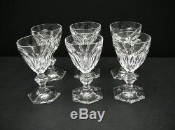 Baccarat Crystal HARCOURT Port Wine Glasses 4 7/8 / Set of 6