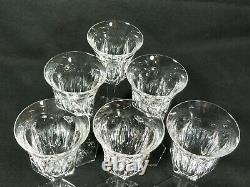 Baccarat Crystal Malmaison Claret Wine Glass 6 3/4 Signed Set of 6pc