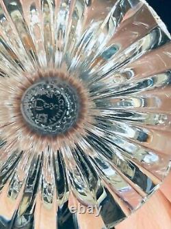 Baccarat Crystal Massena Claret Wine 6 ½ Tall Stem Mint France Signed