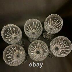 Baccarat Crystal Massena Claret Wine Glasses