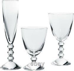 Baccarat Crystal My Vega Set Of 3 Clear Glasses #2810817 Brand Nib Save$$ F/sh