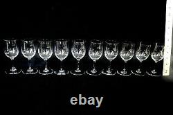 Baccarat Crystal Perfection Port Wine Glasses 5 1/8 Tall (set of 10) French