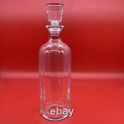 Baccarat France Crystal Whiskey Wine Port Decanter