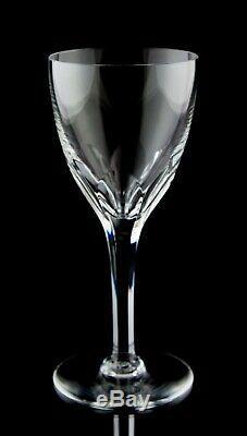 Baccarat Genova (Cut) Claret Wine Glasses Set of 6 Vintage Crystal France