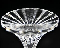 Baccarat Massena 5.9 White Wine Glasses 2 STEMS