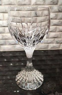 Baccarat Massena Crystal Red Wine Glass, Set Of 4 Excellent Condition