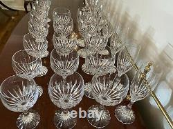 Baccarat Massena Water Wine Champagne Goblets 30 Pieces