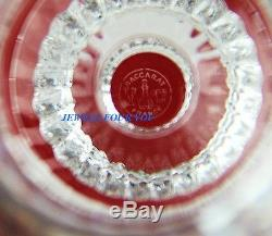 Baccarat Mille Nuits Red Wine # 2 Clear Crystal Glass Made In France # 3
