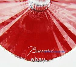 Baccarat Mille Nuits Tall American # 2 Red Wine Crystal Glass Made In France # 7