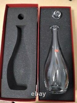Baccarat Vintage Crystal Wine Decanter, Never Used, In Original Box