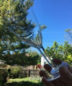 Baccarat Zurich 7 oz. Wine Glass Set of 4