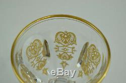 Beautiful Baccarat Harcourt Empire Crystal Claret Wine 5 1/4 Tall