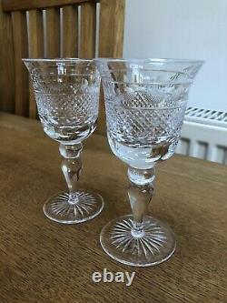 Cumbria Crystal Grasmere Wine Glasses Pair 15.5cm