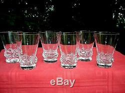 Daum Sorcy Flat Tumbler Wine Crystal Glasses Gobelet Verre A Vin Cristal Unis C