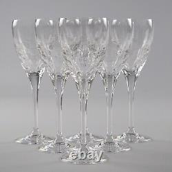 Edinburgh Crystal Skibo, 6 X Water Goblets, 8.75 Inches