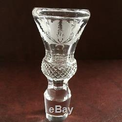 Edinburgh Crystal Thistle Cut Wine Decanter 12, Excellent