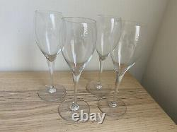 Eight (8) Baccarat France ST. REMY Port Wine Stem Glasses 7 1/2 Tall