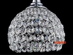 Fashion Led Modern Lighting Crystal Wineglass Bar Ceiling Light Pendant Lamp