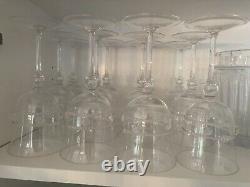 Juliaka Isabella Tulip Goblets Set Of 20, 12 Or 10 $1000 For Set of 20