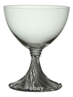 LALIQUE Crystal RAMBOUILLET Wine Glass / Glasses 4 1/4