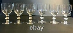 Lalique Clear St Hubert Glasses
