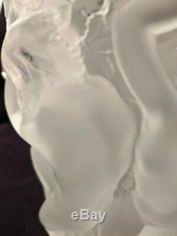 Lalique Crystal Ganymede Ice Bucket / Champagne-Wine Cooler/Vase